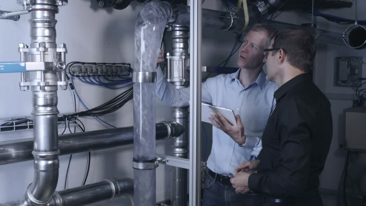 Hydraulics expertise at Geberit