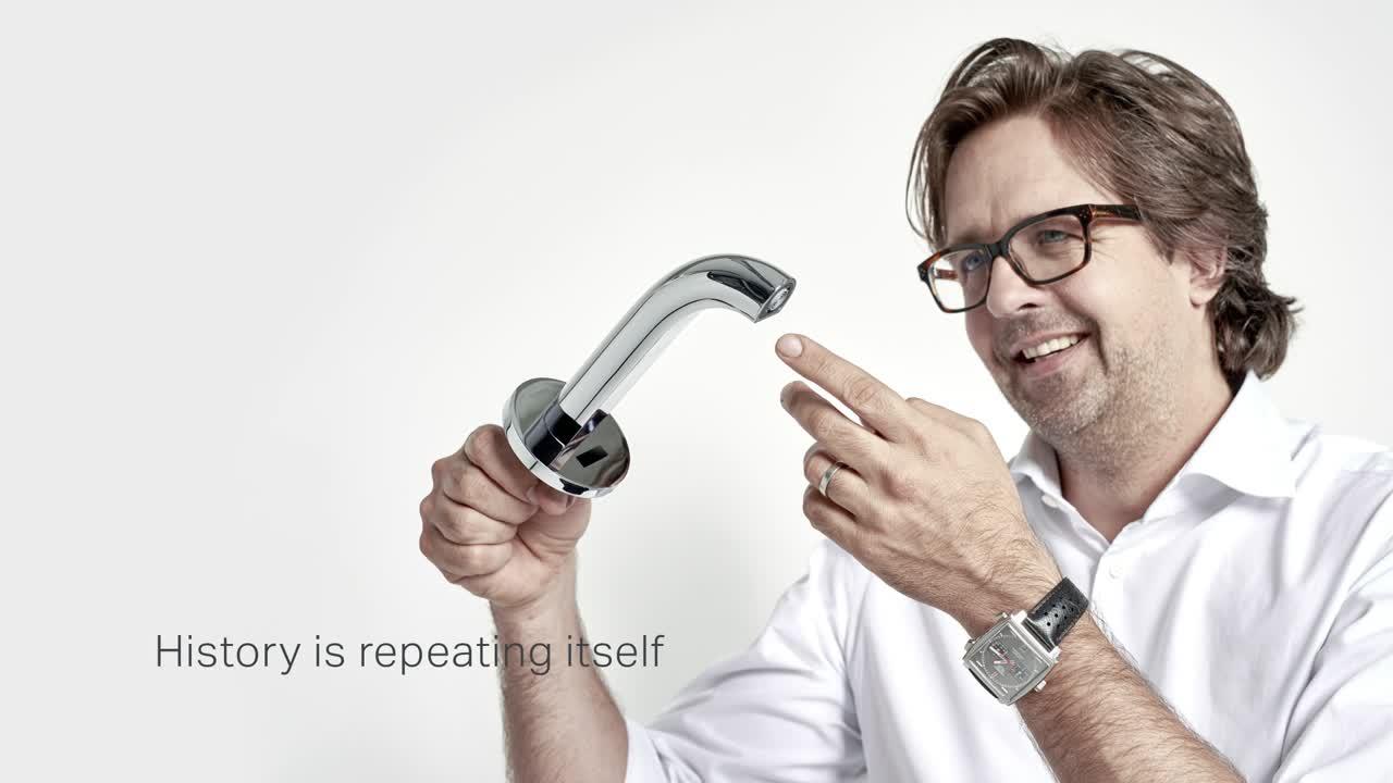 Designer Christoph Behling talks about Geberit tap system