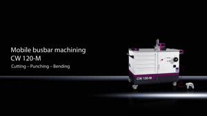Busbar machining CW 120-M