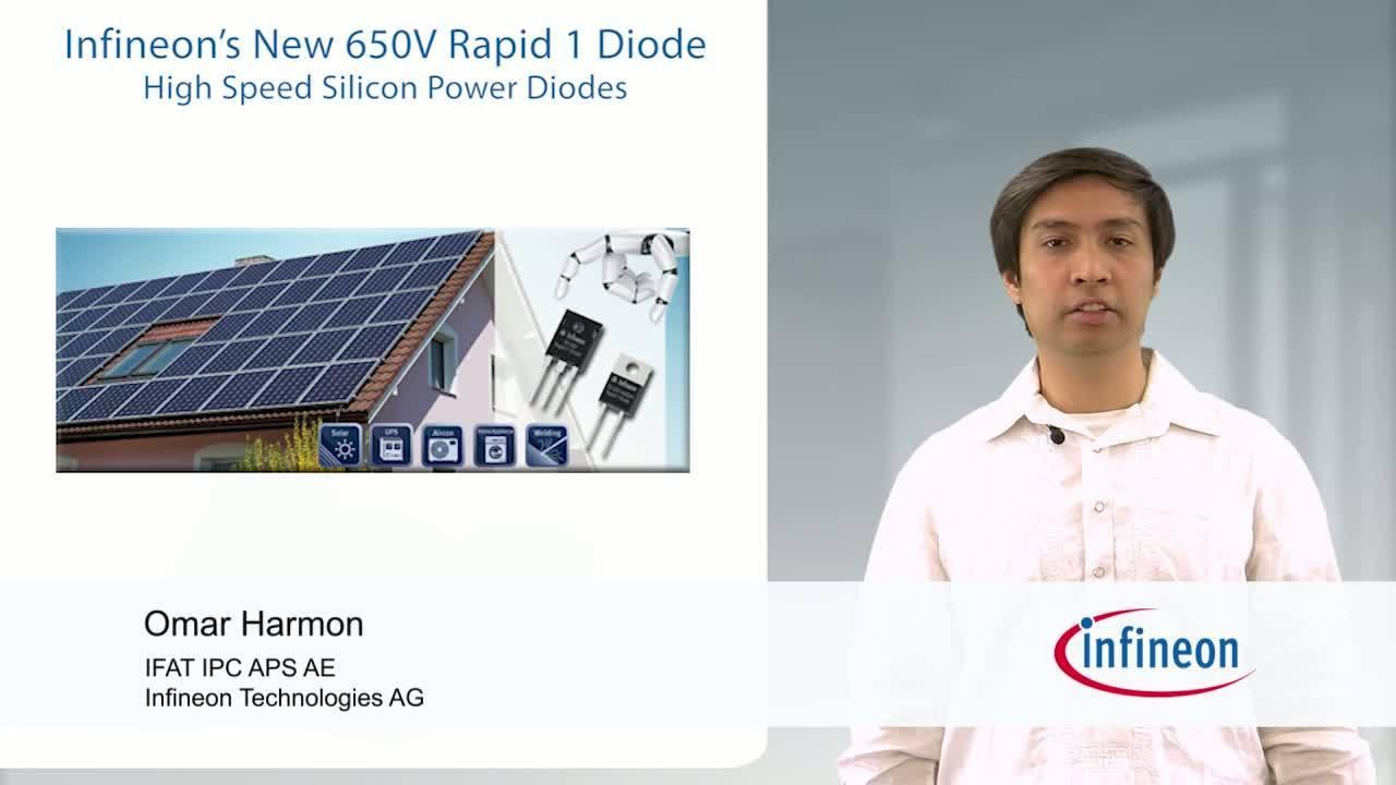Infineon's New 650V Rapid 1 Diode