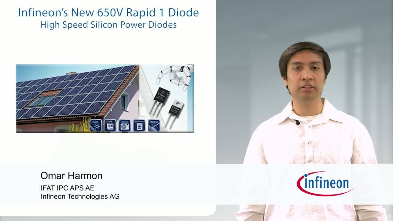 Infineon's 650 V Rapid 1 Diode