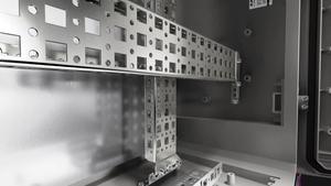 塑料控制机柜 AX 无透明片
