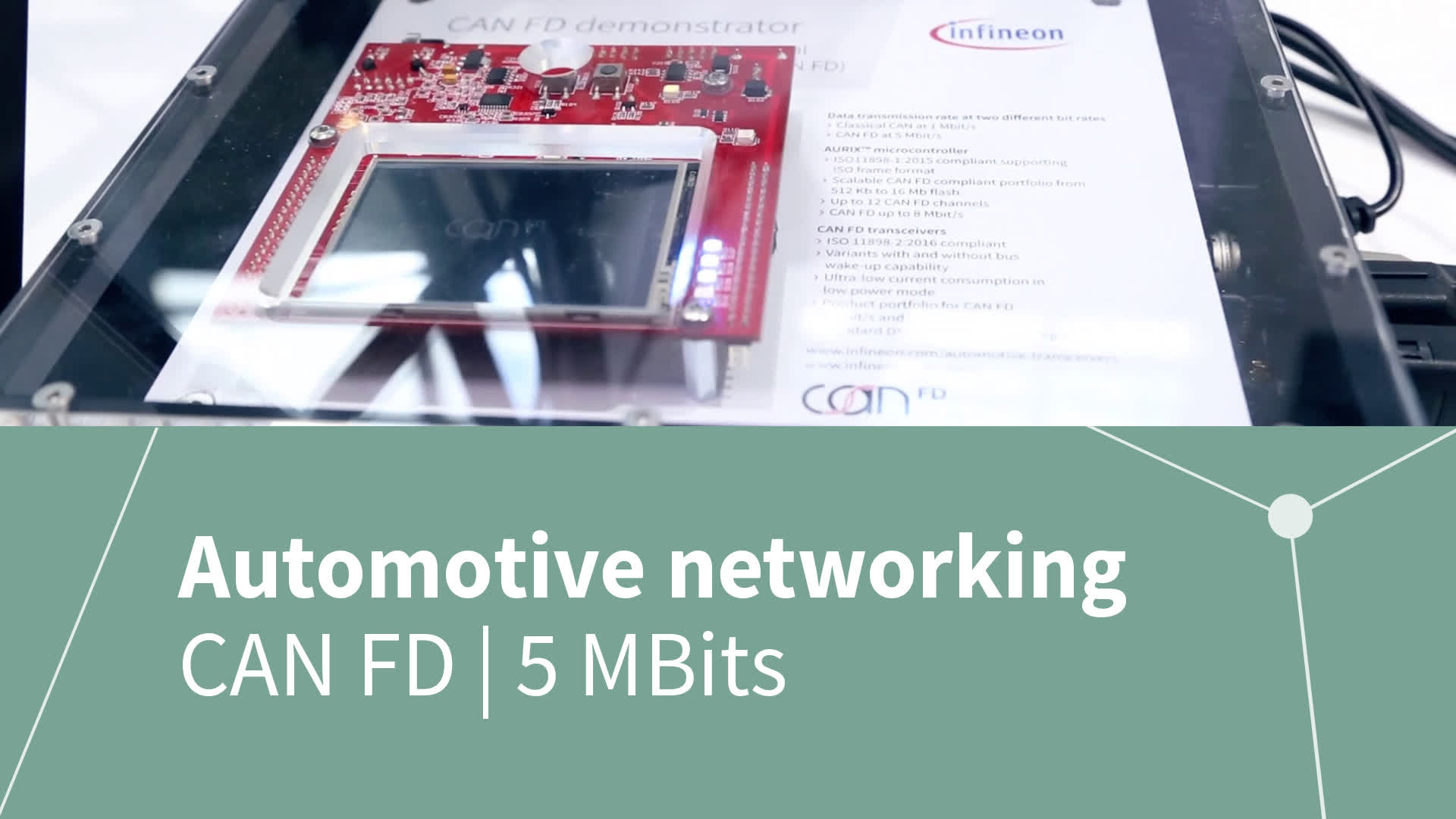 Automotive networking with CAN FD