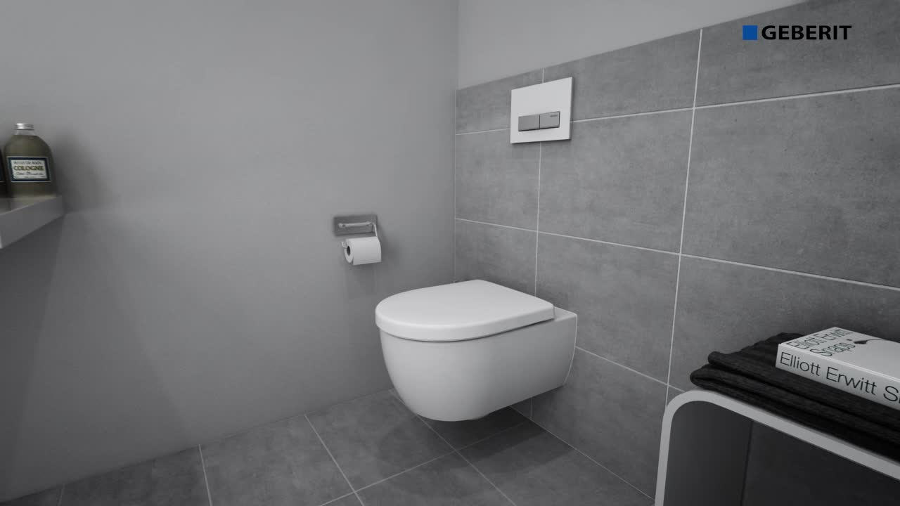 Installing a Geberit in-wall toilet system