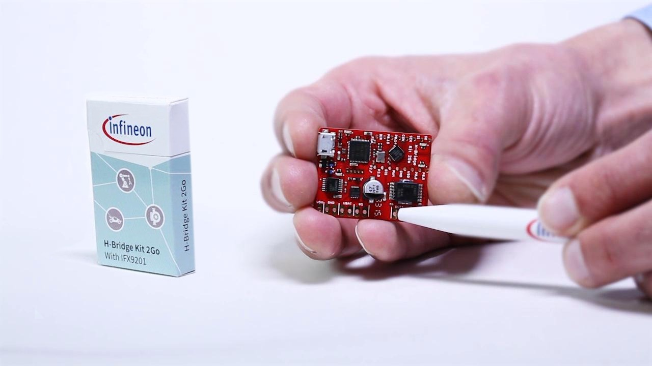 Infineon H-Bridge Kit 2Go – automation solution on a tiny board