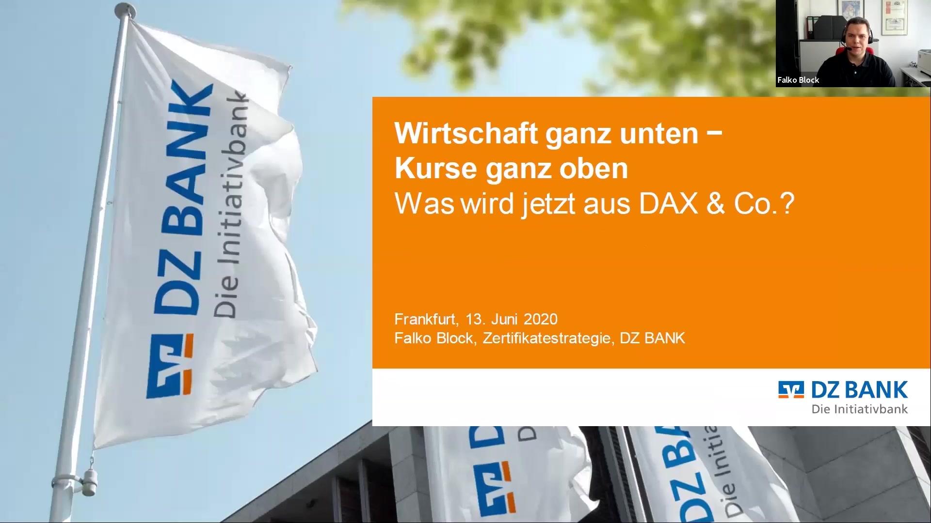 Wirtschaft ganz unten, Kurse ganz oben - was wird jetzt aus DAX & Co.?