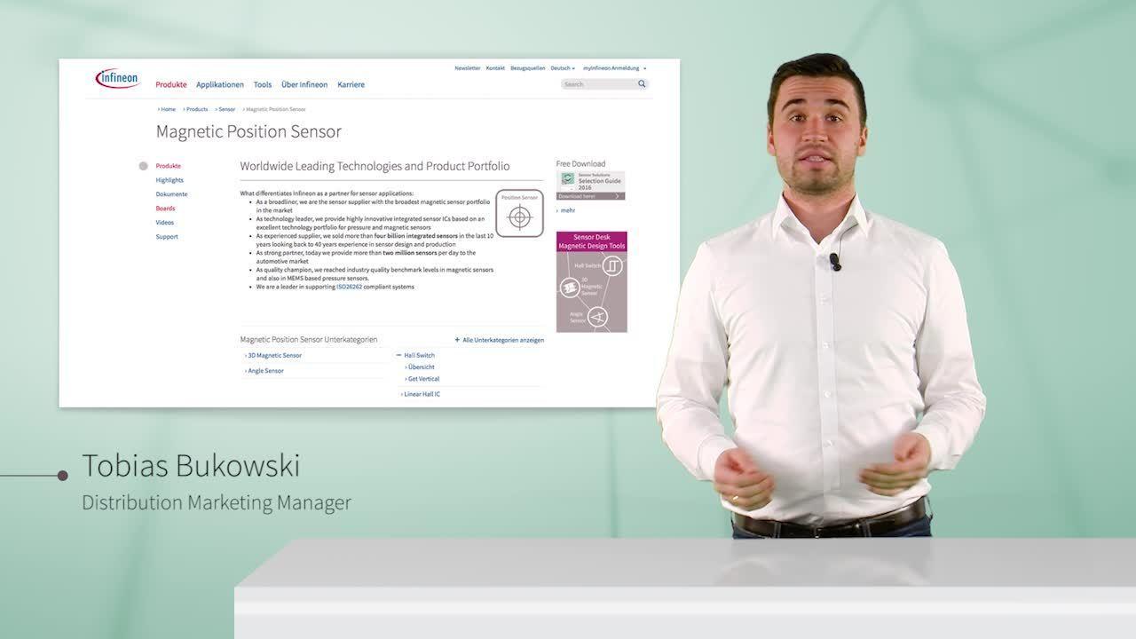 Infineon's product portfolio for BLDC - Infineon's sensor solution for BLDC