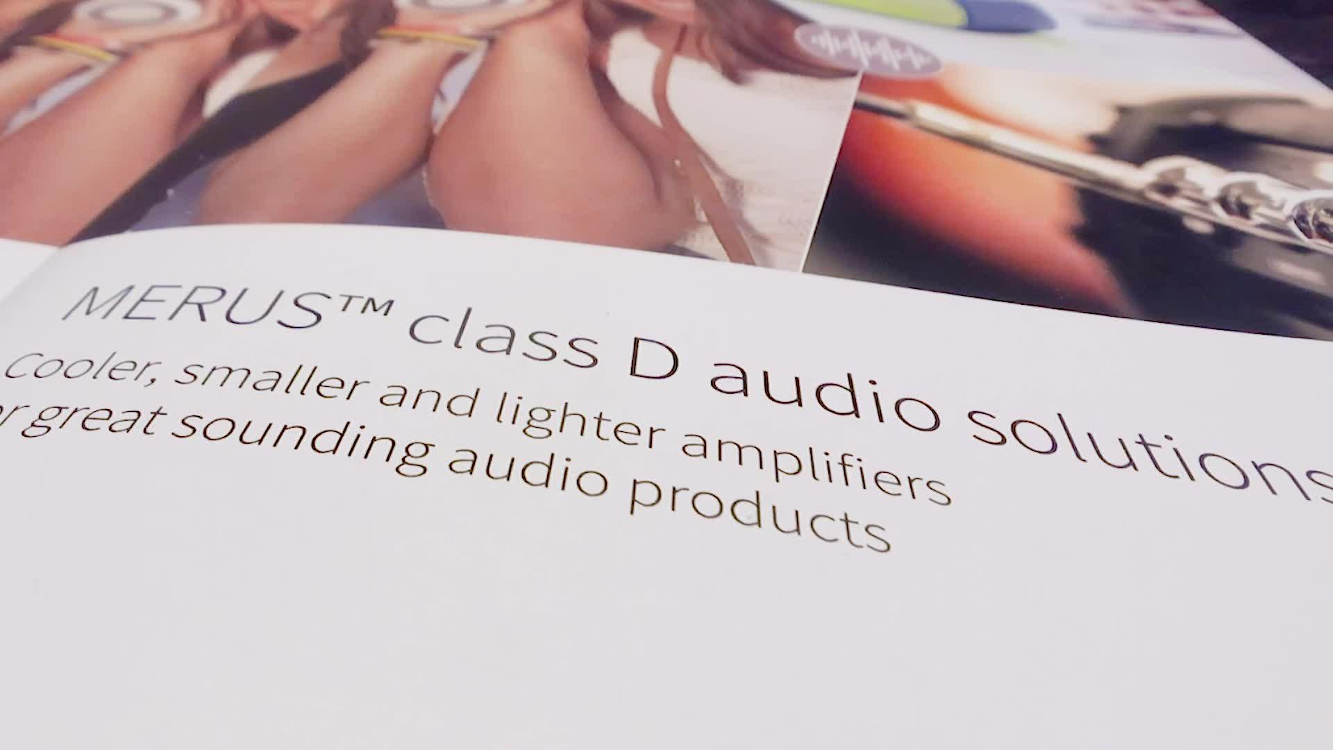 Infineon's MERUS™ class D audio solutions @ CES 2019