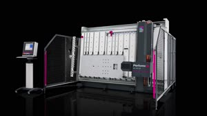 Centro de processamento com fresa Perforex BC 2014 HS