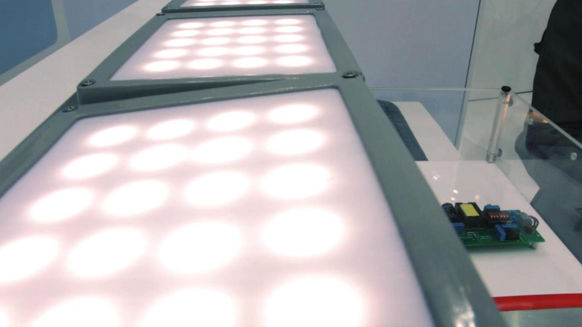 LED Lighting Demonstration at electronica 2014