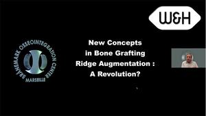 Webinaire - Nouvelle approche des reconstructions osseuses