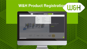 World of wh.com - Product registration